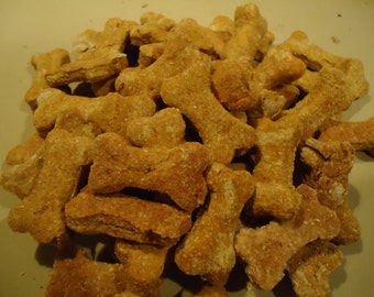 Pear-y Good Dog Treats- 8 oz. Available in all sizes!