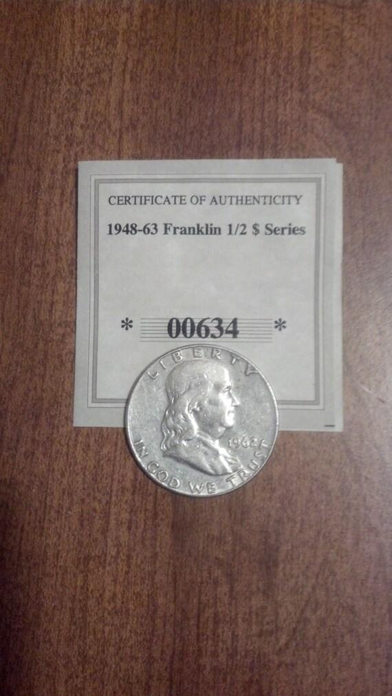 1962 D Franklin SILVER Half Dollar SPECIAL  Price