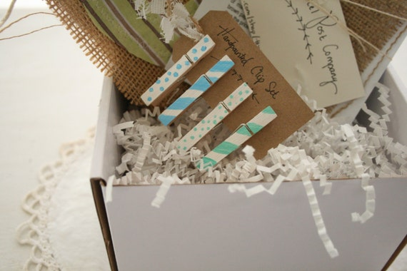Shabby Chic Handmade Subscription Box for Her // Shipping Included