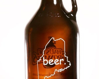 MAINE BEER Growler 64 oz.