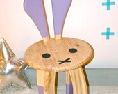 BUNNY Kids Chair in Lilac - Contemporary Childrens Chair