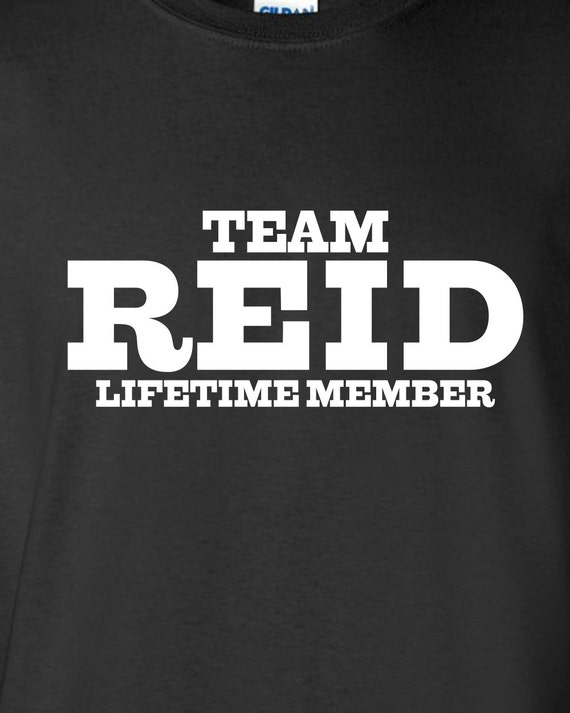 reid name. team reid lifetime member clothing family pride best last name mens ladies swag funny t-shirt tee shirt cool dope winning sports ml-334 reid