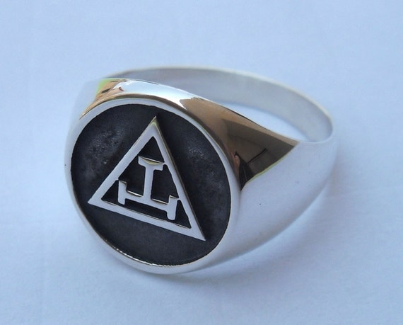 Royal Arch Masonic Mason Ring Sterling Silver 925