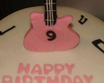 GUITAR Edible Cake topper