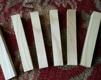 6 - Rescued Red Mulberry Pen Blanks