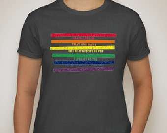I Have A Dream Pride T Shirt