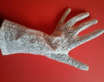 PARIS NEYRET gloves white lace for ceremony