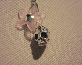 Sugar Skull Cell Phone Charm