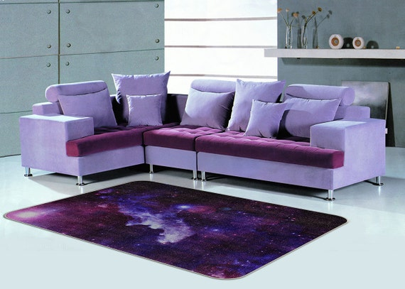 Galaxt Rug Purple Rug Floor Rugs Custom House By VividView