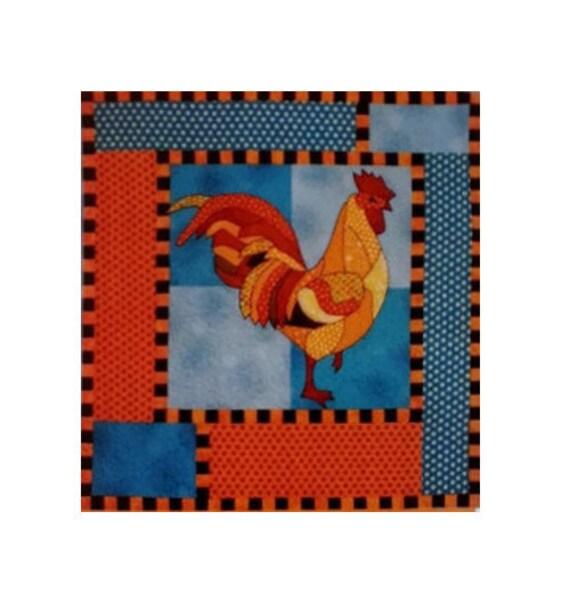 Bj Designs Patterns Reggie Rooster Chicken By
