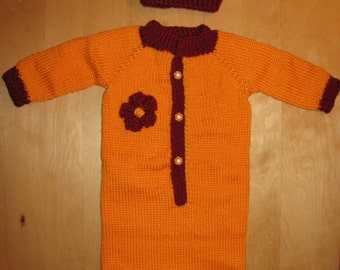 Onesie With Mittens Etsy