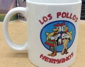 Los Pollos Hermanos Breaking Bad Coffee Mug -High Quality Print