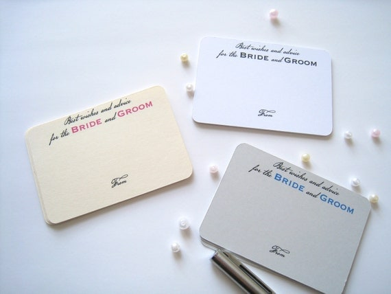 Advice For Bride And Groom Cards Best Wishes Cards Comment