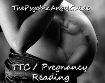 ttc Fertility and Pregnancy Tarot & Oracle Reading with mini Mediumship In LIVE VIDEO and JPG