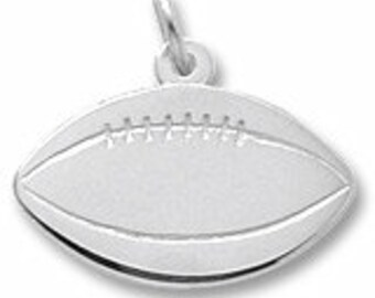 Sterling Silver Football Charm by Rembrandt