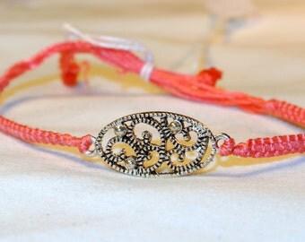 SALE NOW 20% OFF Coral String Bracelet