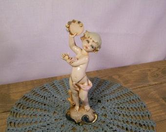 Vintage Cherub Figurine By Simonetti