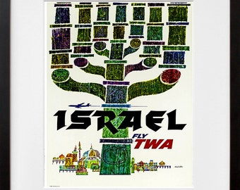 Israel Travel Print Poster Wall Art (ZT314)