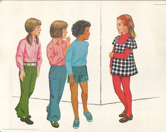 1974 Educational Illustrations - Rendezvous