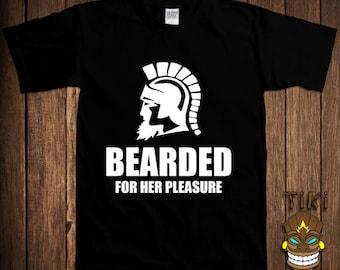 Funny Beard T-Shirt Offensive Beards Tshirt Tee Shirt Moustache Bearded For Her Pleasure Gift For Him Parody Joke Geek Hipster