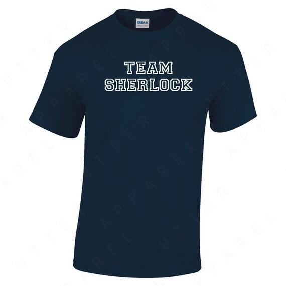 TEAM Sherlock, Sherlock Holmes T-shirt