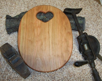 Country Heart Cutting Board