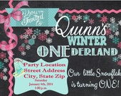 Custom designed invitations, announcements, and party goods! You provide the theme, color scheme, ideas, etc., and I will design it.