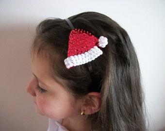 Santa's Hat Christmas headband