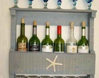 Nautical Wine Rack Etsy