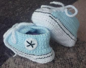 "Crochet, slippers ""type talk"""