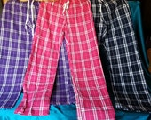 Cozy Color Guard PJ Pants, Embroidered with Color Guard Logo, available in 3 sizes, S, M, L and 3 Colors!! Hot Pink, Bright Purple, Navy!