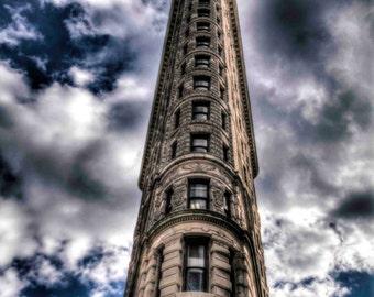 Flatiron Building - Canvas Wrap