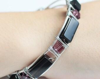 Czech Crystal Bracelet, BR02