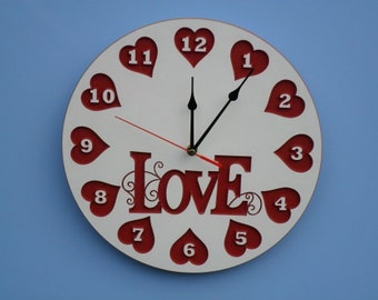 Love Wall clock CF4