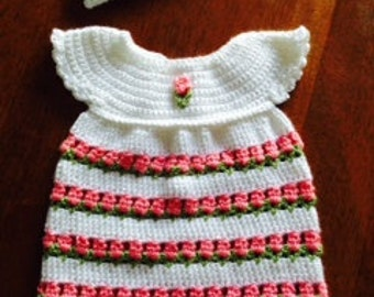Coming Up Roses Baby Dress