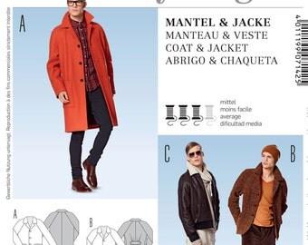 Burda Style Sewing PATTERN - 7142 Coat & Jacket - Sz 34-44