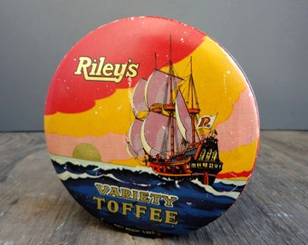 Riley's Toffee Tin