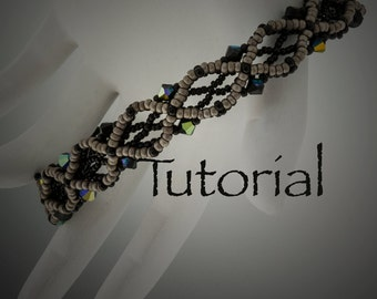 Beaded Bracelet Tutorial Eclipse Digital Download