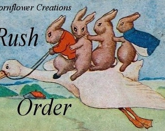 Rush My Order Please - Add this to your order if you need it fast - RUSH WORK ORDER