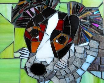 Jack Russell Card - Dog Card - Glass Mosaic Art - Dog Lover Card - Greetings Card - Birthday Card - Dog Mosaic - Mosaic Dog Art - Pet Mosaic