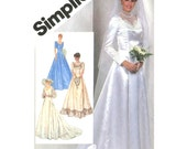 Womens Sweetheart Wedding / Bridemaids Dress Sewing Pattern - Simplicity 5440 - Plus Size 18-20 / Bust 40-42 Uncut