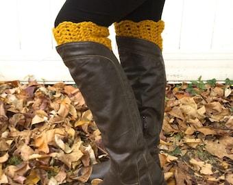INSTANT DIGITAL PATTERN - Crochet Boot Cuffs