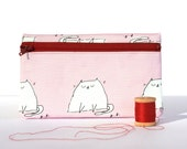 Cat Zipper Pouch Small - Limited Edition