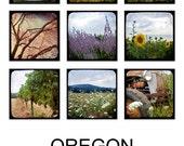 2014 5 x 7 Calendar, Oregon TTV, 5 x 7 Photography Calendar, Small Calendar, Desk Photo Calendar, Unbound, Nature, Wine Country, Landscapes