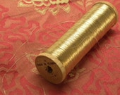 3 Yards Antique French GOLD METALLIC THREAD  Lace, Couching, Fly Tying  more available
