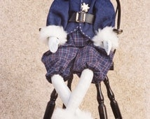 Cloth Doll E-Pattern- 21in Jack Frost Winter Holiday Elf