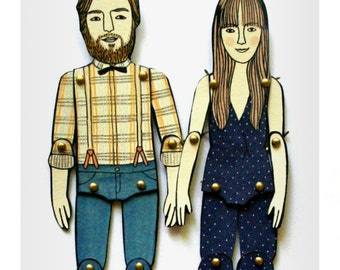 Paper Doll Portrait(s)