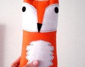 Orange Fox Plush Fox Plushie Fox Plush Toy Stuffed Monster Animal
