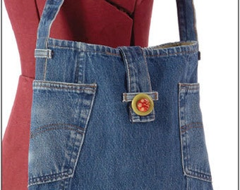 Two Pocket Recycled Jean Tote ePattern