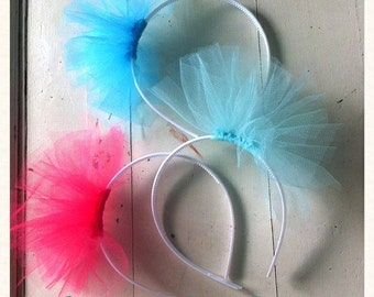 Frou Frou Tutu Headband - Tulle Fluff - for portraits, flower girls, formal occasions, birthday parties